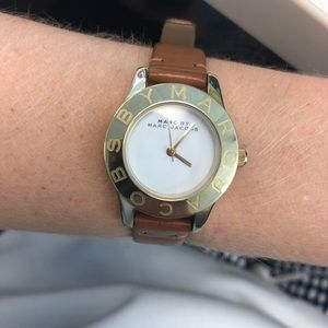 Marc Jacobs Gold/Brown Watch